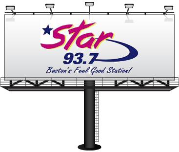 Star 93.7 Boston's Feel Good station